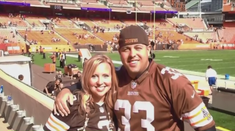 Fiancée of Slain Ohio Officer Upset at NFL's Browns for Anti-Police Anthem Protest