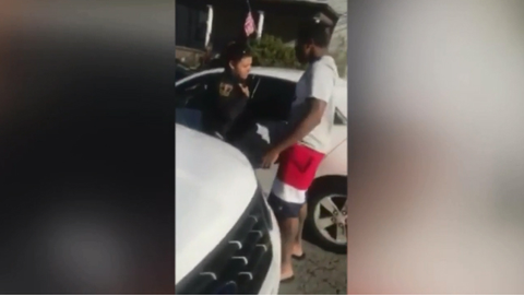 A rookie officer with the Pittsburgh Bureau of Police has been fired over a confrontation with a...