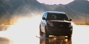 Ford Police Interceptors: Wet Pad