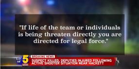 3 Arkansas SWAT Deputies Shot, Suspect Killed Monday Night