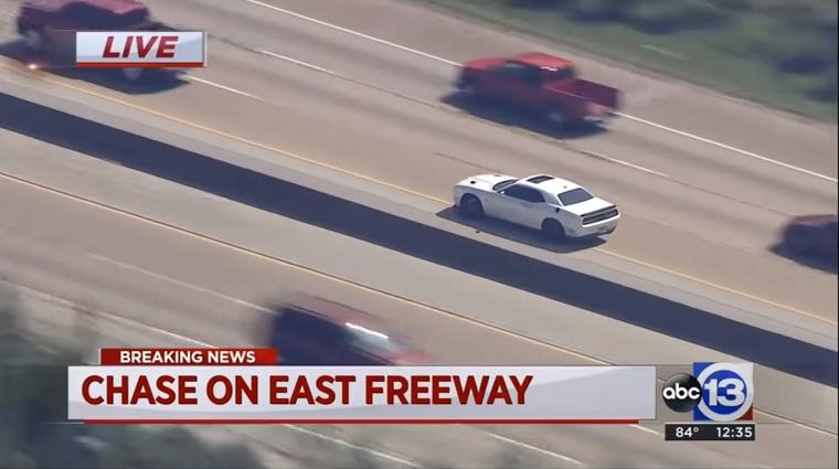 TX Officers Pursue Stolen Dodge Hellcat Across 3 Counties