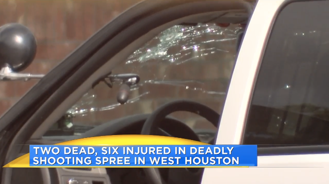 Active Shooter Kills Man, Wounds Two Constables in Houston Rampage