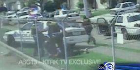 Houston PD's Arrest of Teen Burglary Suspect