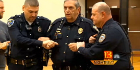 Ind. Chief Takes TASER Hit to Raise Money for Department