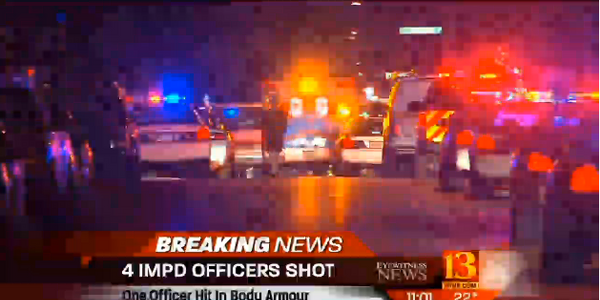4 Indy SWAT Officers Shot Serving Warrant, Suspect Killed