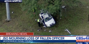 Florida Officer Killed in Patrol Car Accident on Rain-Slicked Highway