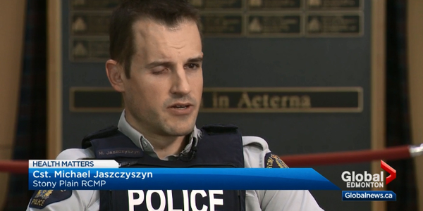In 2012, First Constable Michael Jaszczyszyn of the Royal Canadian Mounted Patrol suffered the...