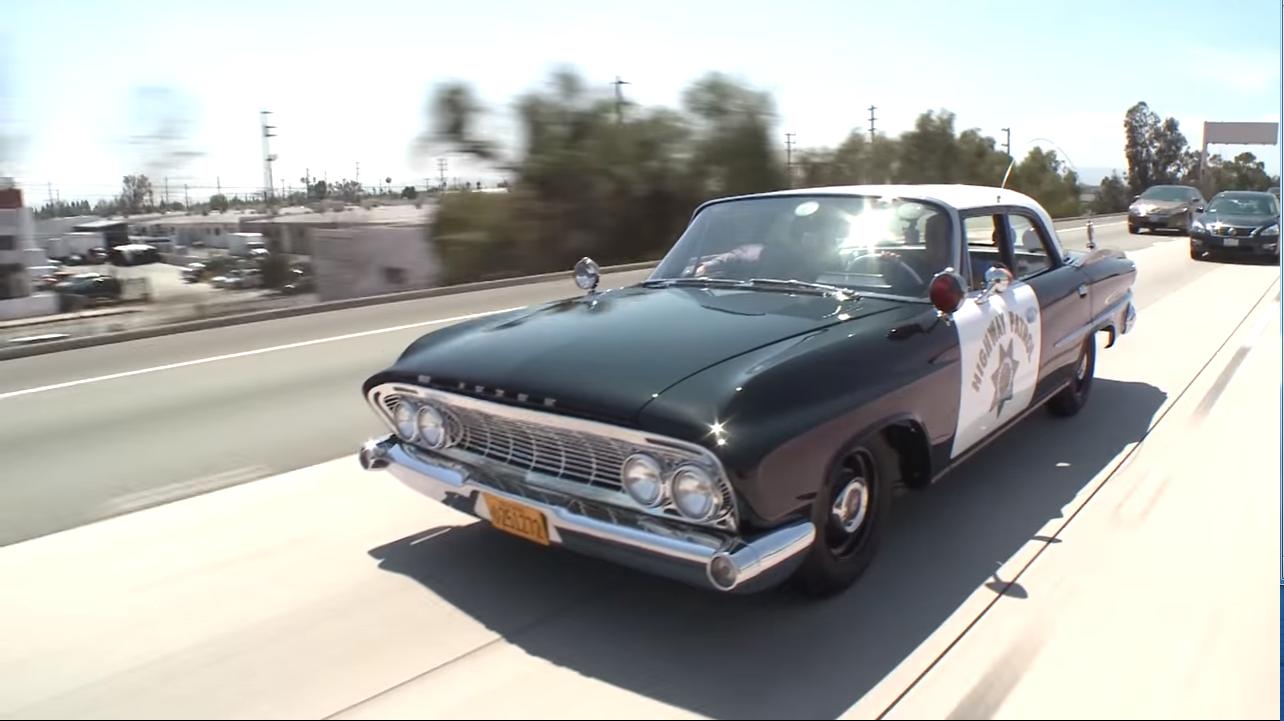 Watch Jay Leno Drive an Ex-Highway Patrol '61 Dodge Polara