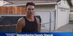 Homeless Man Mourns Slain California Deputy Who Arrested, Then Cared for Him