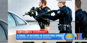 "Kansas Active Shooter Kills 3, Wounds 14, Before Being Stopped by Single ""Heroic"" Officer"
