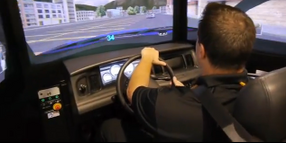 IACP 2013: L-3 DPA PatrolSim Driver Training Simulator