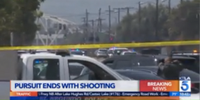 LAPD SWAT Officer and Homicide Suspect Wounded in Gunfight