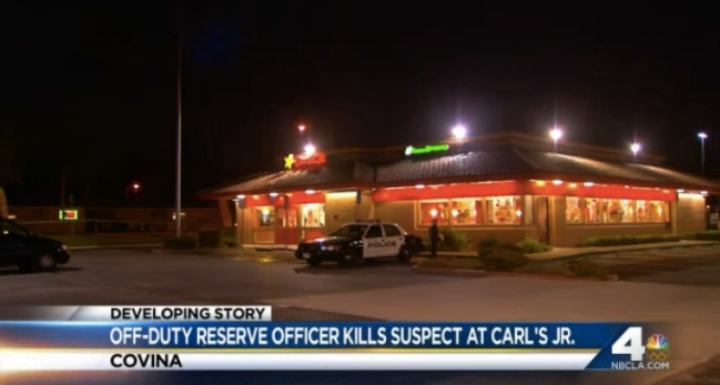 Off-Duty LAPD Reserve Shoots, Kills Robbery Suspect