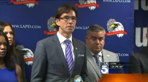 Los Angeles Police Union Sues Chief Over