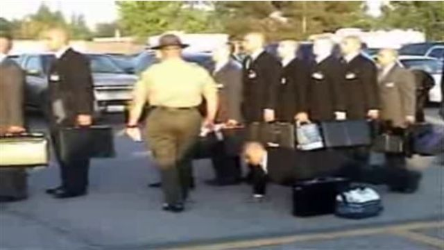 Los Angeles County Sheriff Academy's First Day