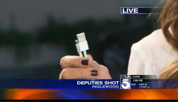 Phone Charger in Calif. Deputy's Pocket Stops Bullet
