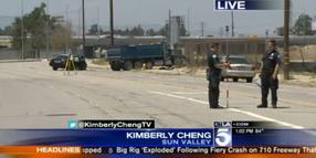 2 Officers Injured in Los Angeles Crash