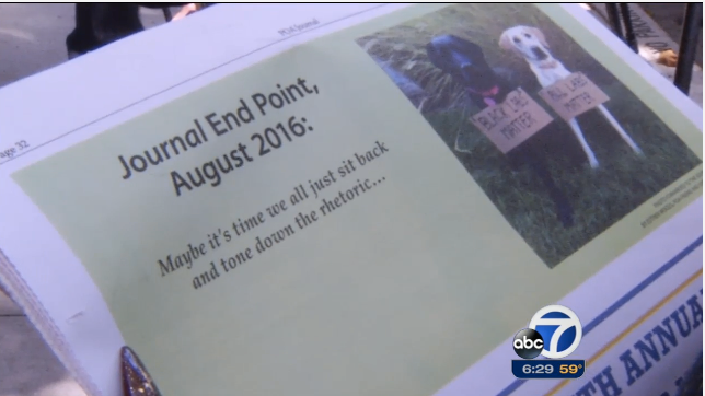 """""""Black Labs Matter"""" Ad in San Francisco Police Union's Newspaper Draws Fire"""
