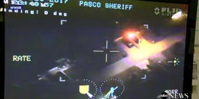 FL Deputies Land Helicopter, Arrest Suspect After Being Flashed with Laser