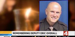 Community Holds Vigil for Michigan Deputy Killed in Pursuit