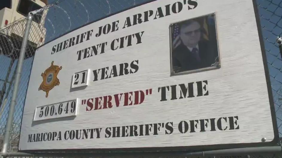 New AZ Sheriff to Close Arpaio's Tent City Jail