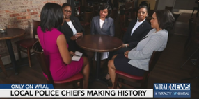 6 Black Women Serving as Police Chiefs for Major NC Cities