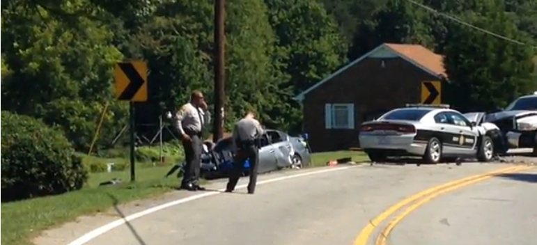 Injured NC Trooper Saves Suspect from Burning Car After High-Speed Chase Crash