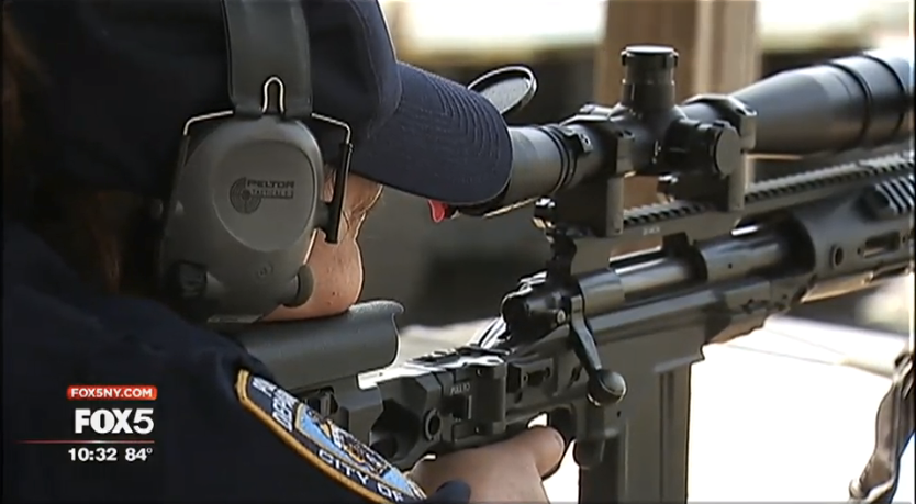 Mother of 3 Serves as NYPD's First Female Counter-Sniper