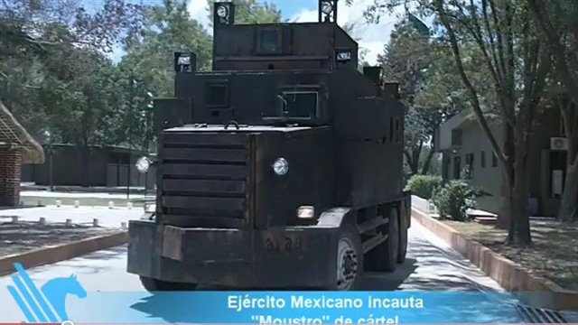Mexican Drug Cartel's Narco Tank