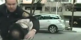 Seattle Cop Slams Man Onto Hood