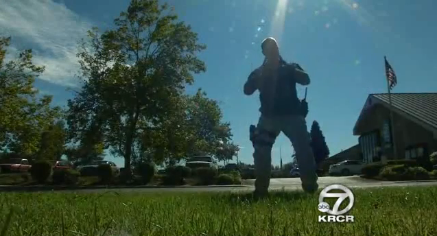Officers from Small California Agency Training to Use Nunchuks