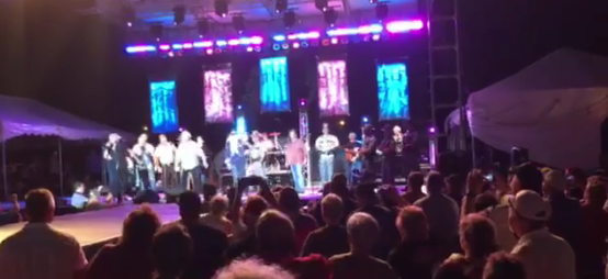 Kentucky Troopers Perform with Oak Ridge Boys at State Fair