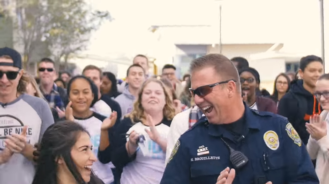 High School Kids Surprise SRO with Awesome