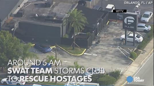 Timeline of the Orlando Nightclub Massacre