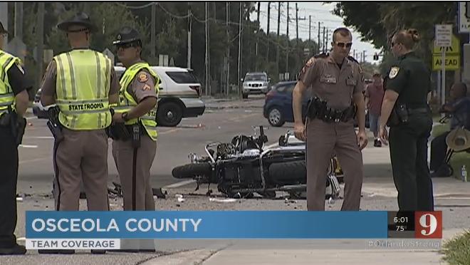 2 Florida Deputies Hospitalized After Car Crashes into Orlando Massacre Victim's Funeral Procession