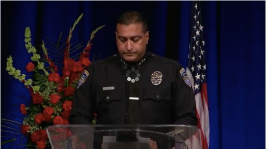 Palm Springs Chief at Fallen Officers' Funeral: It's Time to Stop Ignoring