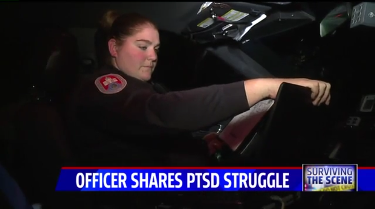 Indiana Officer Tells Story of PTSD that Led Her to Attempt Suicide