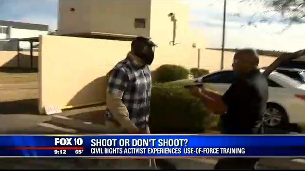 Phoenix Activist Shoots Unarmed Man in Force-on-Force Training Scenario