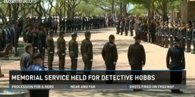 Thousands Attend Memorial for Slain Phoenix Officer