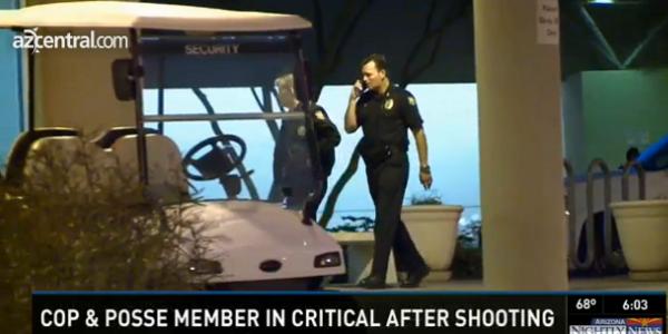 Phoenix Officer, Maricopa Posse Member Shot by Robbery Suspect