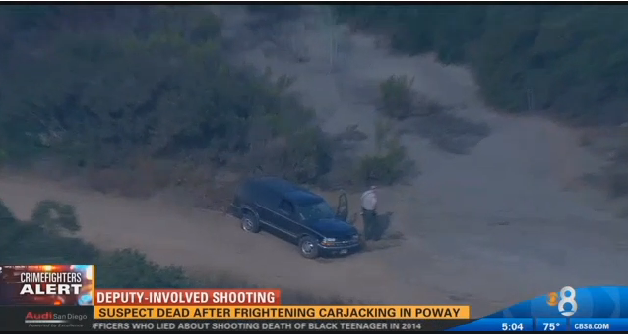CA Carjacking Suspect Who Stole Patrol Car Killed at End of Vehicle Pursuit