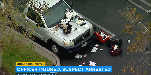 CA Sheriff's Sergeant Stabbed in Parking Lot, Suspect Arrested