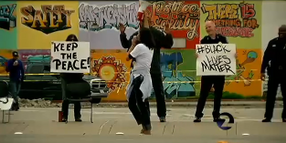 California Chief Marches with Deadly Force Protesters