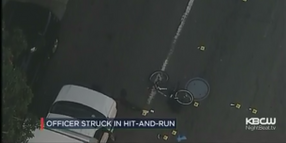CA Bicycle Officer Hit by SUV, Critically Injured
