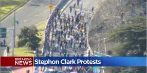 Protests of Sacramento Police Shooting Shut Down Freeway, Block NBA Arena
