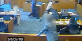 Judge Releases Footage Showing Marshal Shooting Suspect That Attacked Witness in Utah Court