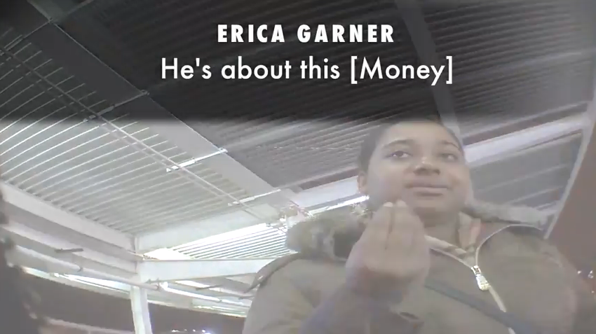 Sharpton All About the Money, Eric Garner's Daughter Says