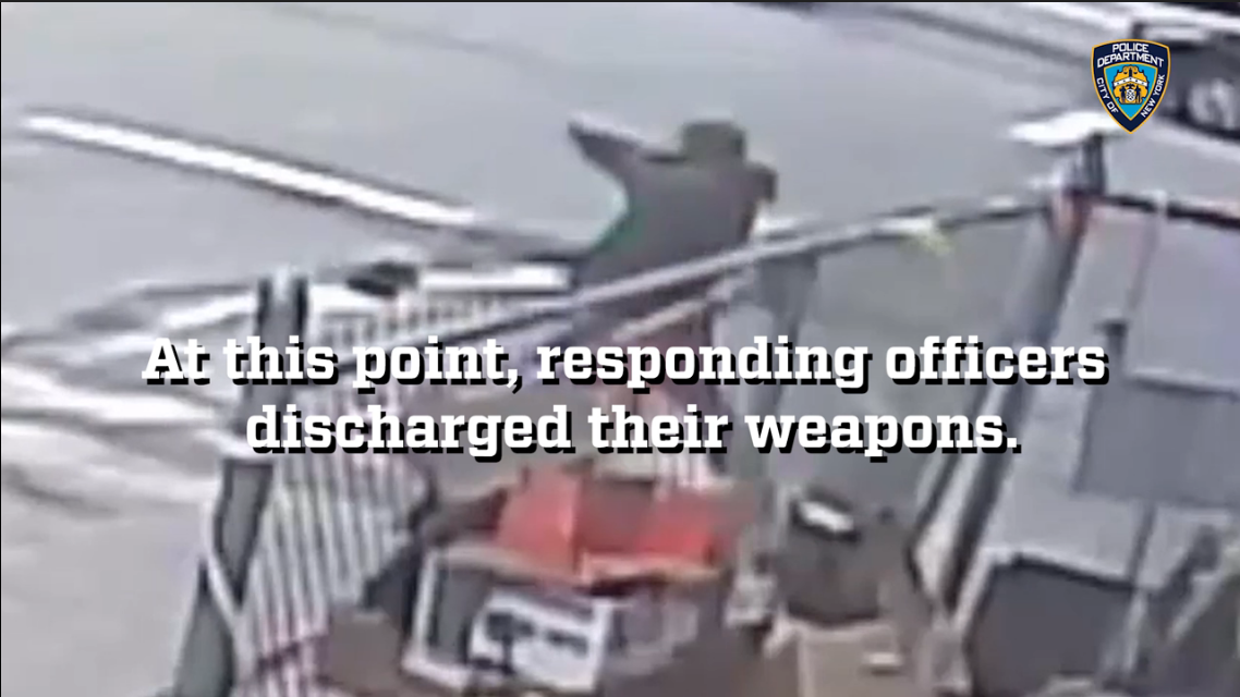 NYPD Releases Footage of Fatal Police Shooting of Man Holding Pipe Like a Gun