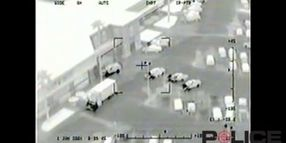 Shots Fired: Scottsdale, Ariz., Helicopter View Footage
