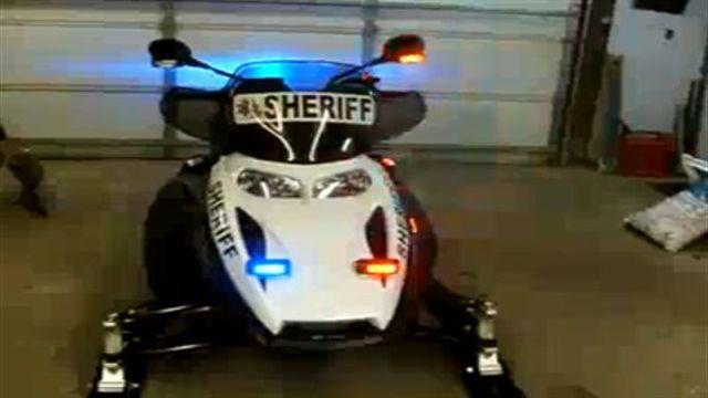 Michigan Deputy's Ski-Doo REV Patrol Sled